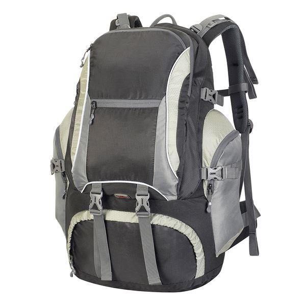 תמונה של תרמיל/תיק גב אולימפוס 1800 שחור/ אפור כהה/ אפור בהיר