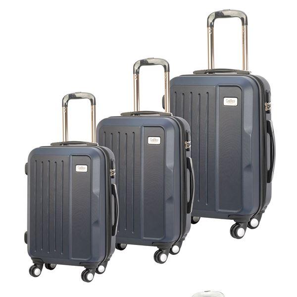 תמונה של סט מזוודות בוסטון נייבי