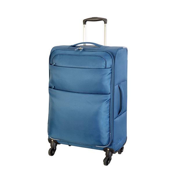 """תמונה של מזוודה קלה 4 גלגלים אמסטרדם 24"""" 4204-24 פטרול"""