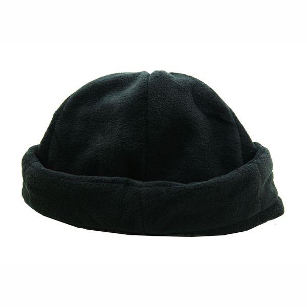 תמונה של כובע פליז מחמם לחורף 14 שחור