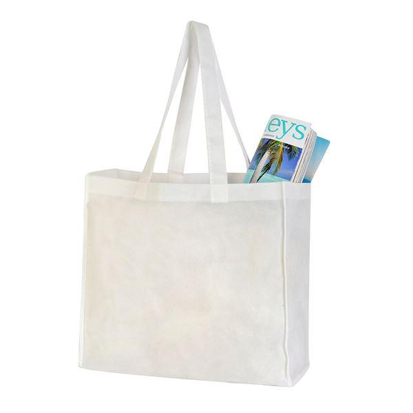 תמונה של תיק קניות ואנס 1013 לבן