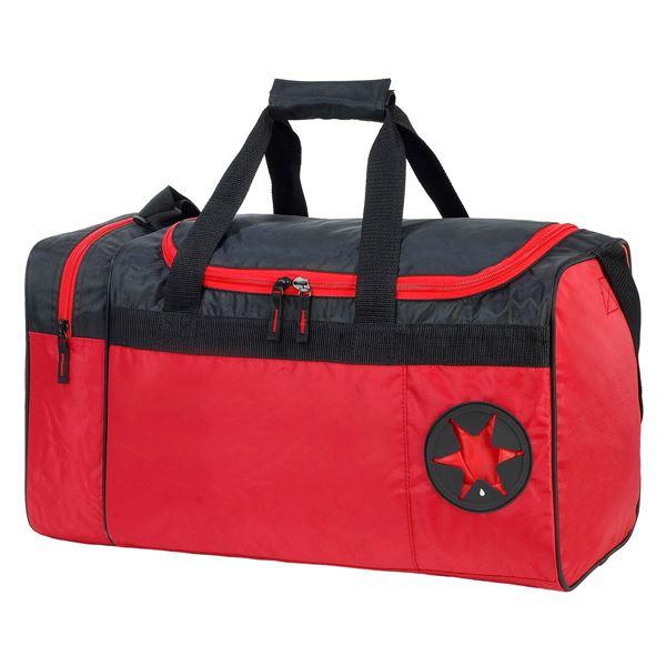 תמונה של תיק ספורט קאן 2450 אדום/שחור
