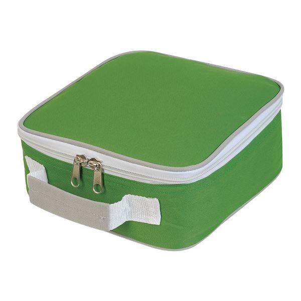תמונה של צידנית סנדביץ' 1808 ירוק ליים/ אפור בהיר