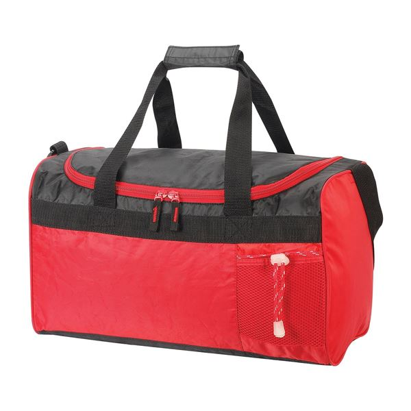 תמונה של תיק נסיעות/ספורט קאן 2440 אדום/שחור