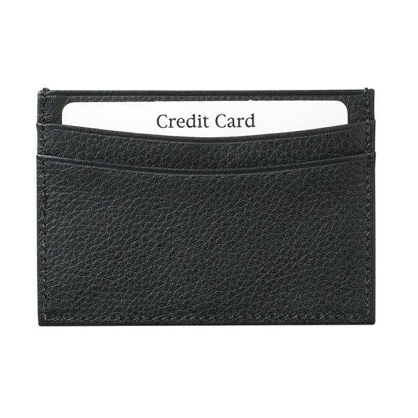 תמונה של נרתיק כרטיסי אשראי מעור 16.715.310 שחור