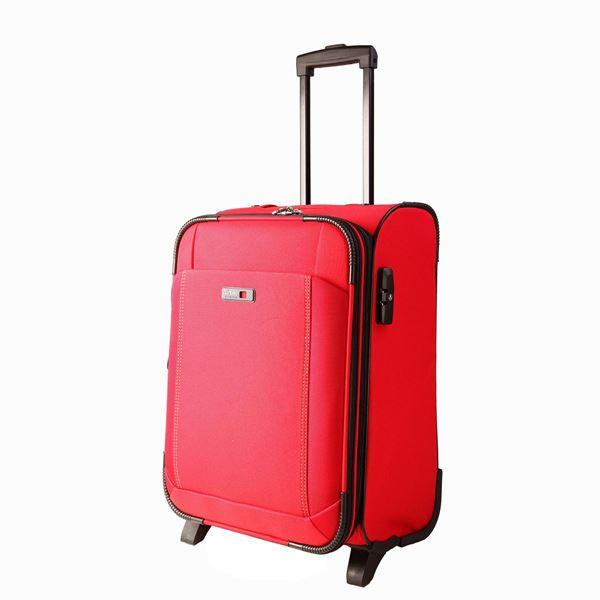 תמונה של טרולי 2 גלגלים לייזר  24'' 35001-65 אדום