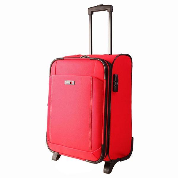 תמונה של מזוודת טרולי 2 גלגלים 28'' לייזר 35001-72-30 אדום