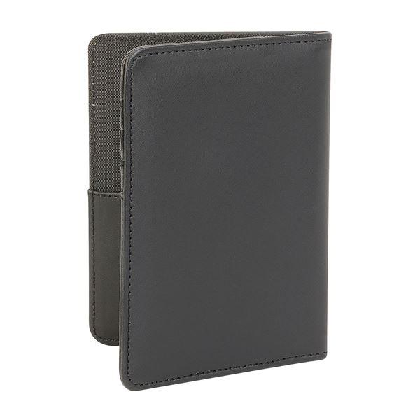 תמונה של כיסוי לדרכון דמוי עור 17.813 שחור